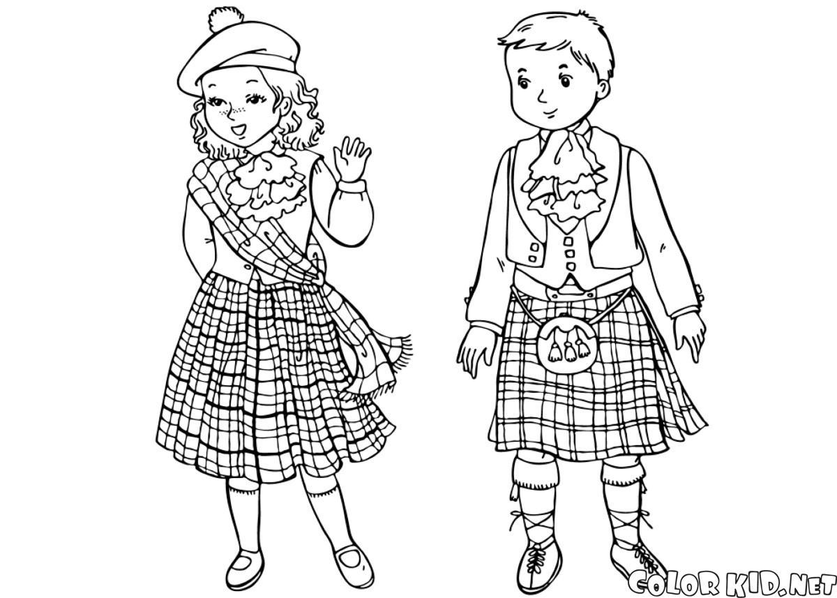 Шотландские дети