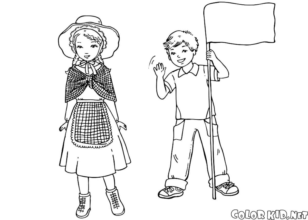 Английские дети