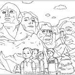 Скульптуры горы Рашмор